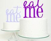 Wedding Cake Topper - 'Eat Me' Original Miss Cake Design