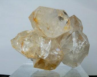 Herkimer Diamond Quartz Terminated Natural Rough Specimen Crystal 224 gram Collectible Quartz Cluster Gift Quality DanPickedMinerals