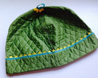 Vintage Green Quilted Toaster Cover