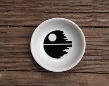 Ring Dish | Death Star | Star Wars Wedding | Groom | Engagement Gift | Jewelry Dish