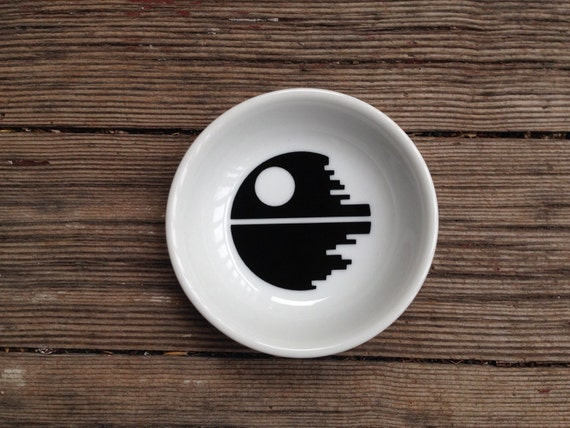 Ring Dish | Death Star | Star Wars Wedding | Groom | Engagement Gift | Jewelry Dish