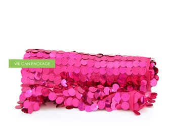 "Sale: Fuchsia Confetti Table Runner 12"" x 108"""