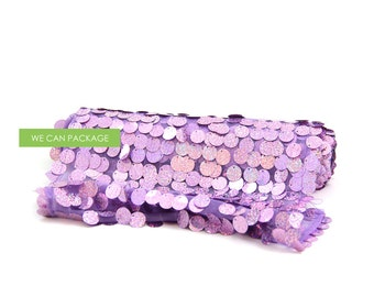 "SALE! Lavender Confetti Table Runner 12"" x 108"""