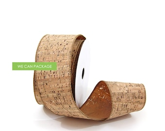Wired Cork Ribbon by We Can Package