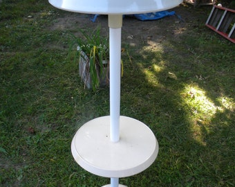 scarce great shape vintage mid century OLYMPIA indoor outdoor PATIO FLOOR lamp table