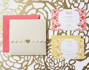 Whimsy Wedding Invitation Suite