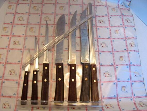case xx kitchen knife set 7 piece case xx by case xx 9 piece wooden block walnut stainless kitchen