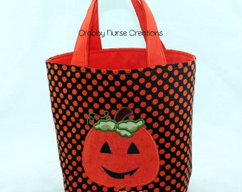 Trick or Treat Halloween Bag  FREE PERSONALIZATION
