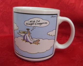 Vintage Far Side Heaven Mug