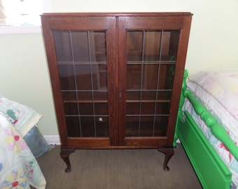 lead glass cabinet