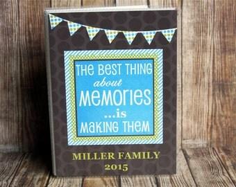 Personalized Photo Album, Photo Album, Custom Photo Album, Family Memories Photo Album, Family Photo Book