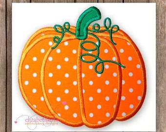 Pumpkin applique embroidery design 136-thanksgiving embroidery,Pumpkin applique embroidery, embroidery Pumpkin for boy or girl