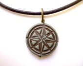Compass Necklace, Personalized Compass, Men's Compass Jewelry, Graduation Gift for Men, Rustic compass, Direction and Purpose, Good Winds
