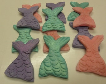 Fondant Mermaid Tails