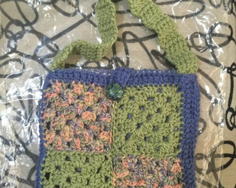 Crocheted Purse #135