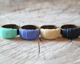 Wrapped Cord Ring