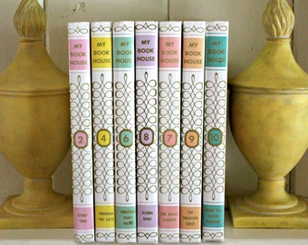 vintage My Book House 7 volumes 1971---children's books---instant collection