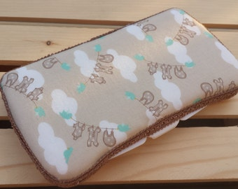 Baby Wipes Case, Travel Baby Wipes Case, Onsie Print
