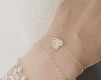 Unique Monogrammed Bracelet Related Items Etsy