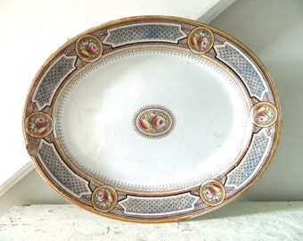 Vintage Ironstone Platter Large