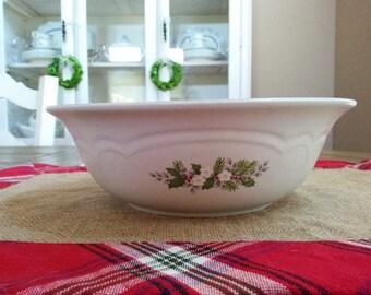 Pflatzgraff Christmas Heirloom Vegetable Bowl Two Available Serving Bowls
