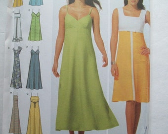 Simplicity 4996  Misses Dress Pattern-Many Styles--Sizes 14-20