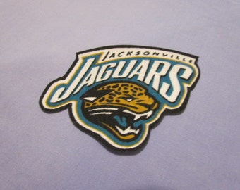 FREE SHIPPING for NFL Jacksonville Jaguars Iron On Patch Logo