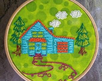 Cozy Cottage Needlepoint