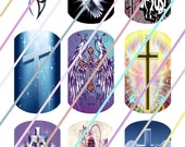 Faith Dog Tags Images 4x6 Digital Collage Sheet Instant Download