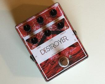 Noisemaker Effects Destroyer Fuzz/Echo/Delay/Reverb Effect Pedal