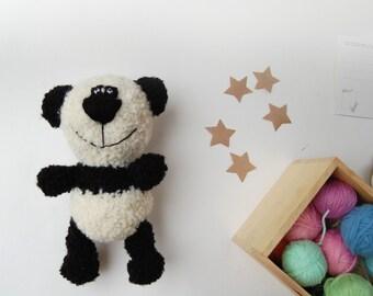 Panda Stuffed Bear, Soft toy animal, Plush Bear, Soft Sculpture Doll