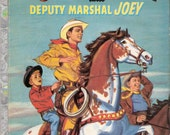 Wild Bill Hickok and Deputy Marshal Joey Vintage Rand McNally Elf Book by Ethel B Stone Illustrated by Williams Timmins 1956