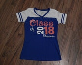 Class of Graduation Year V-Neck Tee