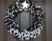 """18"""" Dallas Cowboys Wreath"""