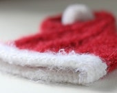 Santa Elf Christmas baby hat holiday baby hat photography prop photo prop, winter hat, newborn hat Newborn to 6 months Made to Order