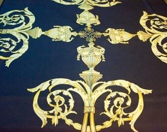 Vintage San Francisco Fall Antiques Show Silk Twill Scarf