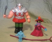 "Ram Man and Orko from He-Man and the Masters of the Universe ""MOTU"""