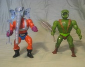 "Snout Spout and Kobra Kahan from He-Man and the Masters of the Universe ""MOTU"""