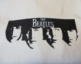 Embroidered Beatles T shirt