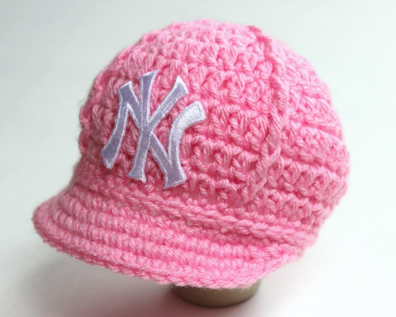 girls pink yankees baby hat cap new york yankees baby