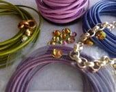 Pink Crystal Cuff Bracelet  CUSTOM ORDER for SophieSuu