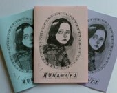 Runaways zine - on pink or blue (sorry no lilac left)