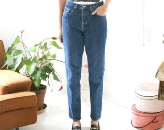 SALE Vintage 90s GAP Mom Jeans High Waisted Denim 31 x 33
