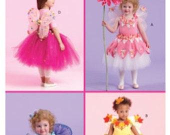 McCall's Fairy Costume Pattern, New Pattern M5950, Size 1,2,3