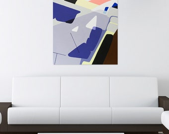 """Abstract painting, landscape painting, original painting, 35.8 x 46 x 1 free shipping """"Each"""""""