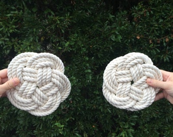 Rope Trivet / cotton