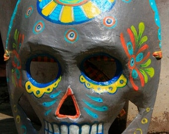 Traditional design style Calavera- Dia De Los Muertos mask decoration