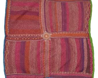 Original Vintage Kantha Patch for craft project D81
