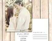 Simple Photo Save the Date Cards and Announcements