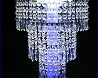 Crystal wedding cake stand Tiered design